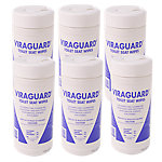 Viraguard Toilet Seat Wipes - Case of 960 Wipes