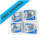 "Sanitizing Wipes, 6"" x 8"" Wipe, Case, 4 Rolls per Case"