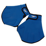 Glove for Aquatic Fitness, Blue, Size Medium