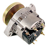 Alternator with Smooth Flywheel