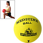 Medicine Ball, 1Kg / 2.2 Lbs., Yellow