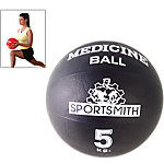 Medicine Ball, 5Kg / 11 Lbs., Black