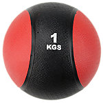 Classic Bi-Color Medicine Ball | 2.2 Lbs / 1 Kg | Red & Black