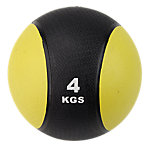 Classic Bi-Color Medicine Ball | 8.8 Lbs / 4 Kg | Yellow & Black