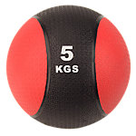 Classic Bi-Color Medicine Ball | 11 Lbs / 5 Kg | Red & Black