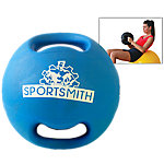 Dual-Grip Medicine Ball, 10 Lbs., Blue