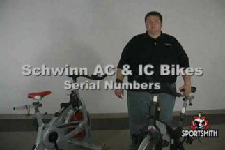 where do you find the serial number on a schwinn bike